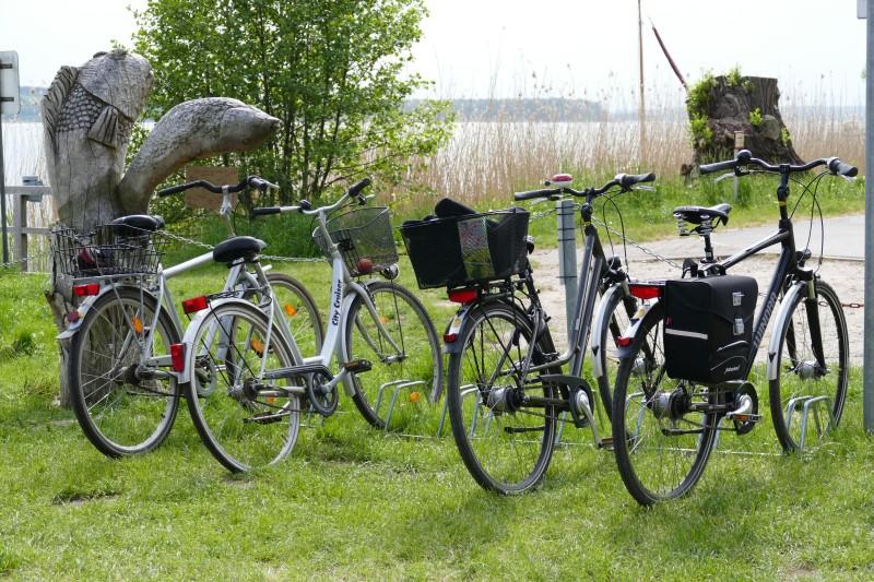 fischerei fahrrad